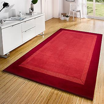 Conception de bande de tapis de velours rouge