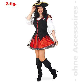 Pirat Lady drakt pirat prinsesse Seeräuberin pirat damer drakt
