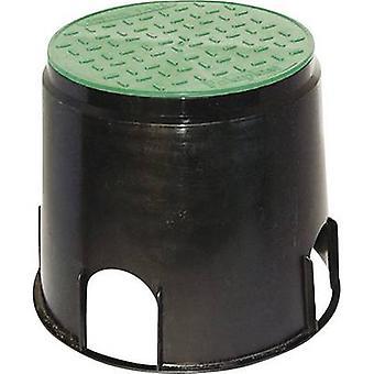 Heitronic 21036 Floor socket Black, Green