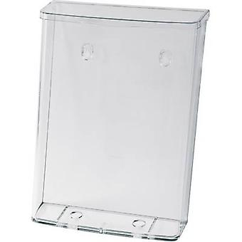 Sigel LH325 Brochure holder Acrylic glass (clear) A4 portrait No. of compartments 1 1 pc(s) (W x H x D) 247 x 339 x 88 mm