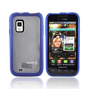 Verizon Dual Cover Case pour Samsung Fascinate SCH-I500, Galaxy S (Blue/Clear) (Bulk Packaging)