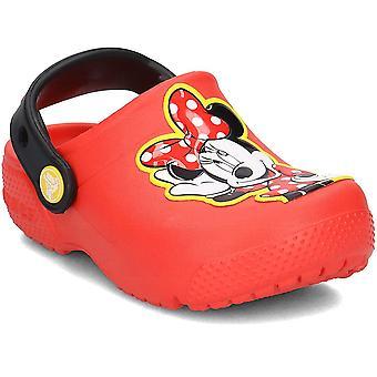 Crocs moro Lab Minnie Clog 204995FLAME universal alle år spedbarn sko