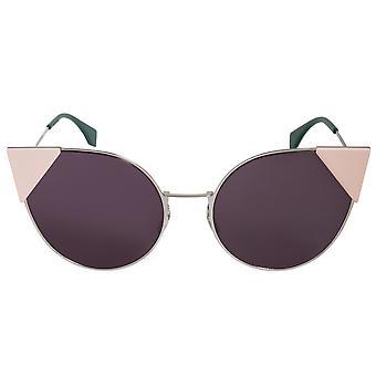 Fendi Lei ronde zonnebril FF0190S 010 OM 57