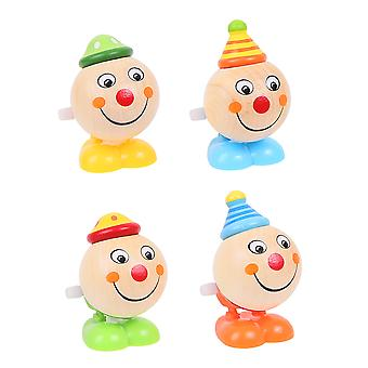 Bigjigs Toys Jumping Clown Heads (Pack of 2)