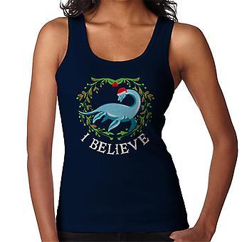 クリスマスのネッシー私は女性のベストを信じる