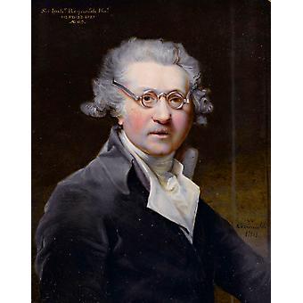 Porträt des Künstlers, Sir Joshua Reynolds, 60x40cm