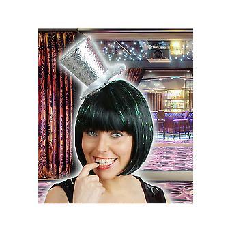 Accesorios para el cabello fiesta sombrero de lentejuelas