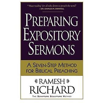 Przygotowanie kazania wyjaśniający - siedmiostopniową metodę dla biblijnej głosić