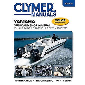 Yamaha 75-250 HP 4-temps moteur hors-bord manuel de réparation (Haynes Clymer Outboard Motor réparation manuelle)