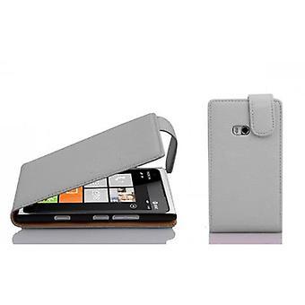 Cadorabo case for Nokia Lumia 900 case case cover - flip phone case in textured faux leather - Case Cover Protective case case Book Folding Style