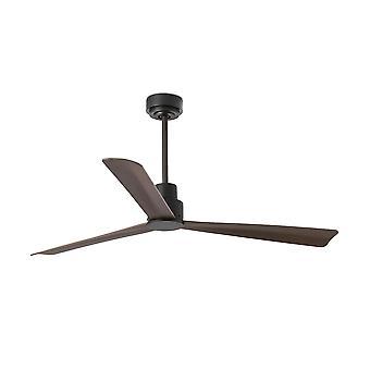 Faro - ventilador de techo marrón medio de Nassau sin luz FARO33478