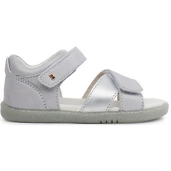 Bobux I-walk Girls Sail Sandals Silver