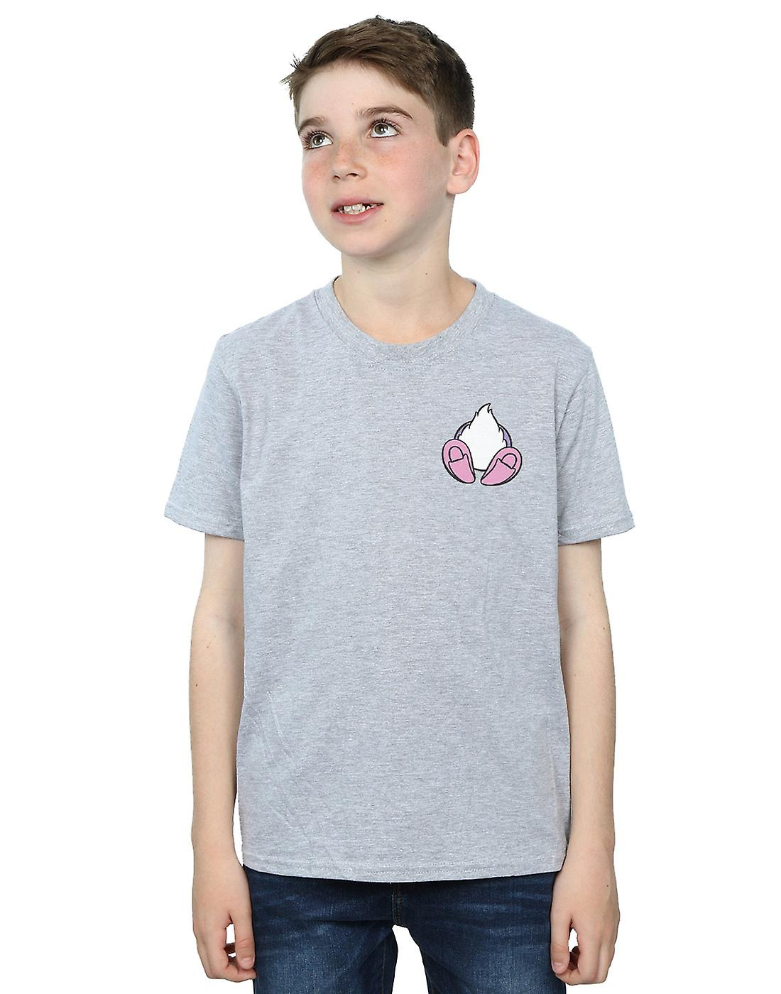 Disney Boys Daisy Duck Backside Breast Print T-Shirt