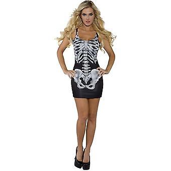 Skeleton Dress Adult