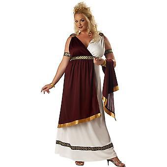 Roman koningin volwassen kostuum