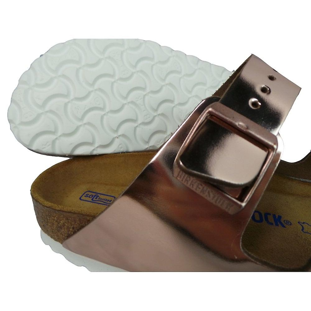 Birkenstock Ladies Footwear Arizona Metallic