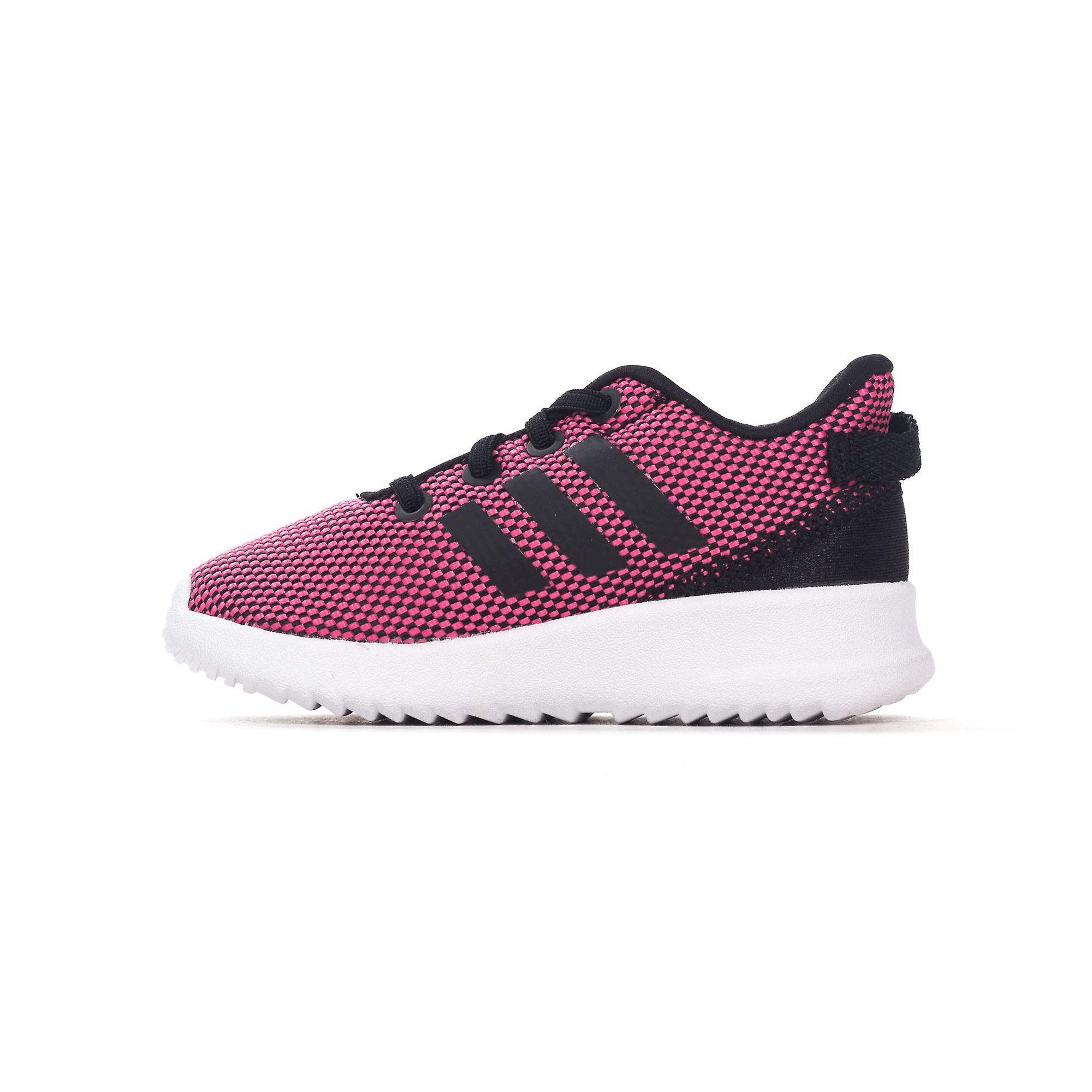 Adidas NEO Racer St spedbarn barn jenter Sports trener sko rosahvit