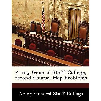 Leger General Staff College tweede cursus kaart problemen door leger General Staff College