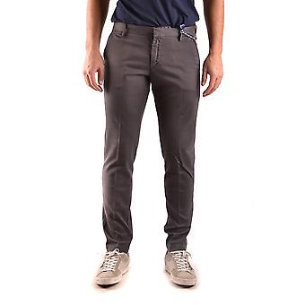 At.p.co Ezbc043052 Men's Brown Cotton Pants