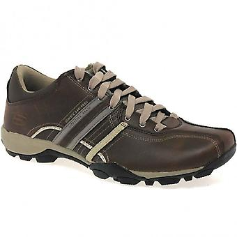 Skechers Mens Urban Tread Refresh Lace Up Casual Shoes