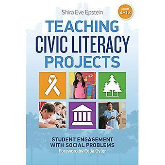 Opetuksen Civic Lukutaito Projektit: Opiskelijan sitoutuminen sosiaalisiin ongelmiin, arvosanoja 4-12