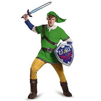 Leyenda Deluxe Link de Zelda de Nintendo juego Video libro semana traje para hombre adolescente
