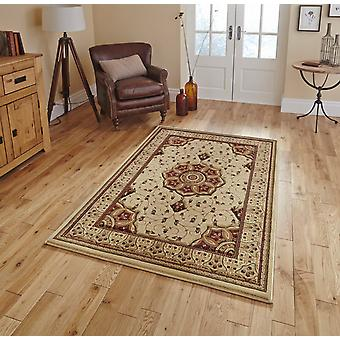 Heritage 4400 Cream Red  Rectangle Rugs Traditional Rugs