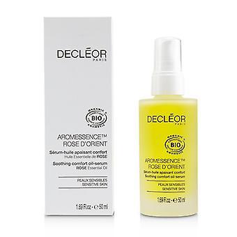 Decleor Aromessence Rose D'orient Soothing Comfort Oil-serum - Para piel sensible (tamaño de salón) - 50ml/1.7oz