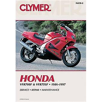 Honda VFR700F-750F - 1986-1997 Clymer Workshop Manual (2nd edition) b