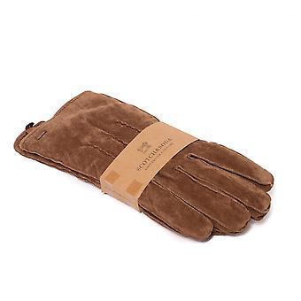 Scotch & soda suede Lumber Jack guanti