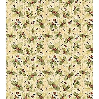 Craft Consortium Vintage Holly Decoupage Papers (CCXDECP047)