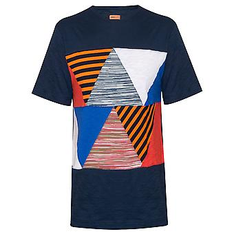 MISSONI Mare Patchwork Navy T-Shirt