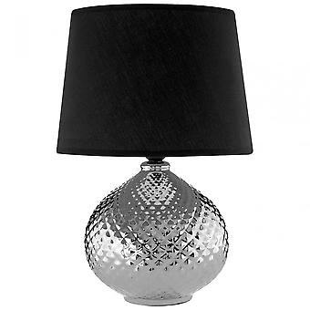 Premier Home Hetty Table Lamp, Argent