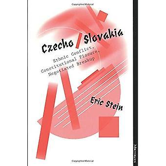 Tschecho/Slowakei: Ethnische Konflikte, konstitutionelle Fissur ausgehandelt Trennung