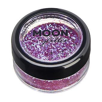 Iridescent Glitter Shakers by Moon Glitter – 100% Cosmetic Glitter for Face, Body, Nails, Hair and Lips - 5g - Purple