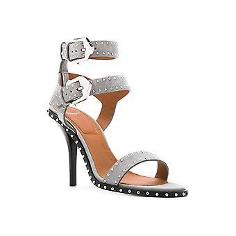 Givenchy kvinner Cuir Agneau åpen tå ankel stropp klassiske pumper