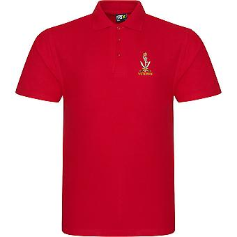 Queens Ghurka Signals Veteran - Licensed British Army Embroidered RTX Polo