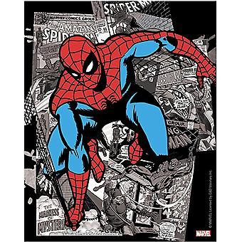 Sticker - Marvel - Spiderman B&W Comic New Gifts s-mvl-0091