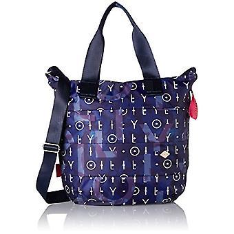 Oilily Ruffles Shopper Lvz - Donna Blau Bucket Bags (Dark Blue) 10x38x32cm (B x H T)