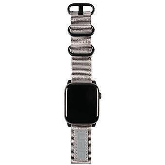 UAG Nato Nylon 42 et 44mm Apple Watch Band- Gris