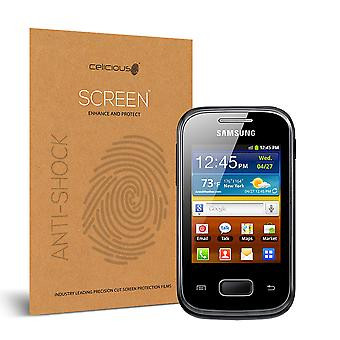 Celicious влияние анти-шок небьющиеся протектор экрана фильм совместим с Samsung Galaxy Pocket