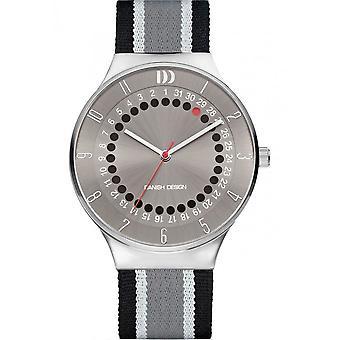 Diseño danés - Reloj de pulsera - Hombres - FECHA 360 IQ34Q1050 ACERO INOXIDABLE