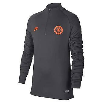 2019-2020 Chelsea Nike Drill Training Top (Anthracite) - Kids