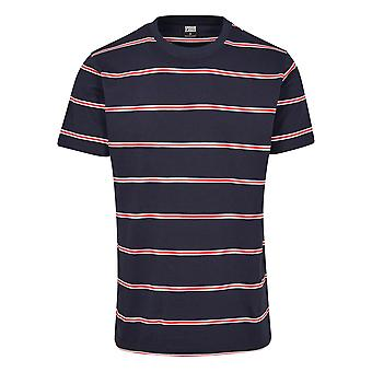Urban Classics Men's T-Shirt Yarn Dyed Skate Stripe