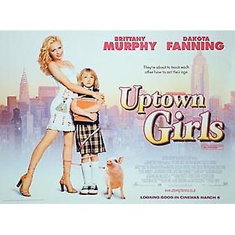 Uptown tytöt (kaksipuolinen) alkuperäinen elokuva juliste