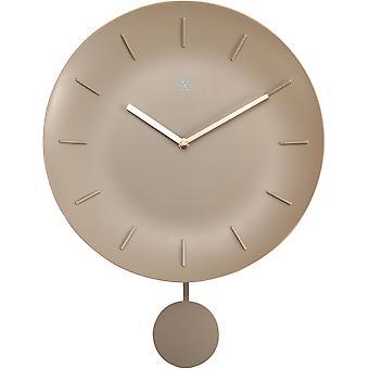 NXT-Wall Clock-Ø 30 cm-Muovi-off valkoinen-' kulho '