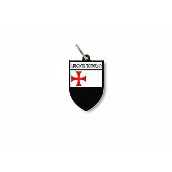 مفتاح الباب الرئيسي جلا العلم جمع شعار الأسلحة فارس الهيكل الحملة الصليبية r2