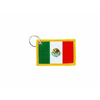Cle Cles Key Brode Patch Ecusson Badge Bandiera Messico