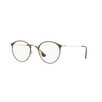 Ray-Ban RB6378 2905 Brown-Gold Glasses