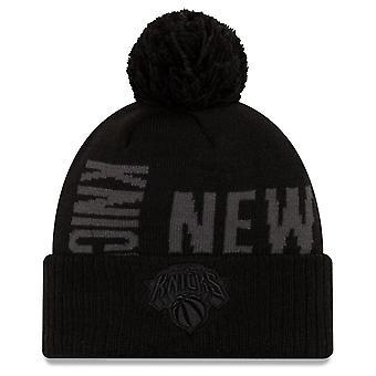 New Era Bobble Winter Cap - NBA TIP OFF New York Knicks